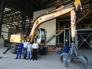 FUCO Steel purchase Liebherr
