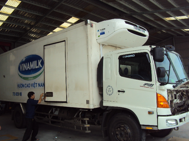 Vinamilk đầu tư thêm đội xe lạnh TK